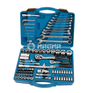 "88 PCS 1/2"" Drive 1/4"" Drive Socket Tool Set pictures & photos"
