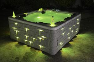 China luxury jacuzzi bathtub portable hot tub outdoor spa china jacuzzi bat - Jacuzzi spa exterieur ...