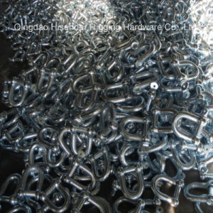 JIS D Type Shackle, Zinc Plated pictures & photos