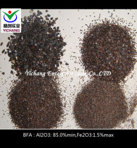 Al2O3: 85% Min Brown Corundum for Sandblasting pictures & photos
