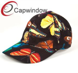 Butterfly Printed Fashion Promotional Summer Sport Baseball Cap pictures & photos