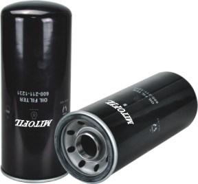 High Quality Oil Filter for Komatsu (OEM NO.: 6002111231)