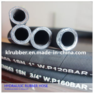 SAE100 R1at High Pressure Flexible Hydraulic Rubber Hose pictures & photos