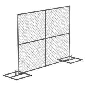 United States 6FT X 12FT Chain Link Fence Panels for Construction Site pictures & photos