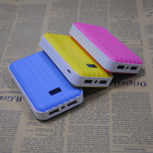 Dual USB Output Full Capacity 4500mAh Travelling Power Bank pictures & photos