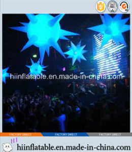 2015 Hot Selling Decorative LED Lighting Inflatable Star 0054 for Event, Celebration