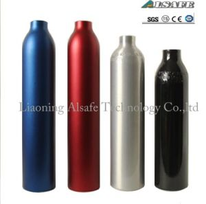 High Pressure Aluminum Compressed Gas Tank for Paintball Gun pictures & photos