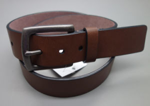 New Fashion Vintage Style Men′s Leather Belt (EUBL1409-40) pictures & photos