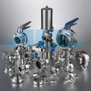 Stainless Steel High Precision CNC Machined Butterfly Valve (ACE-DF-C5) pictures & photos