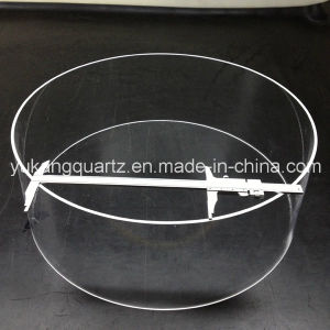Large Diameter/Od Custom-Design Quartz Glass Tube pictures & photos