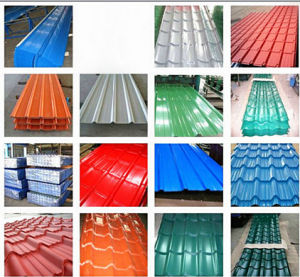 Good Quality Anti-Rust Corrugated Roof Tile pictures & photos