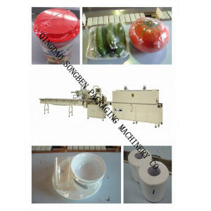 Shrink Packing Machine with Feeder for Tableware pictures & photos