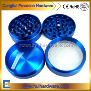 High Quality CNC Machining Parts CNC Tobacco Grinder Anodized Aluminum Herb Grinder pictures & photos