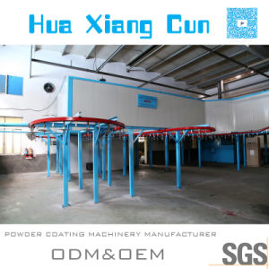 Semi-Automatic Powder Coating Line Made in Huaxiang