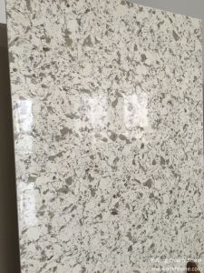 Carara White Marble Color Quartz Stone Coutertops