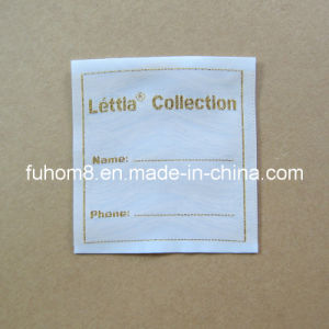 Customized Woven Name Label / Name Tag for Writing Name pictures & photos