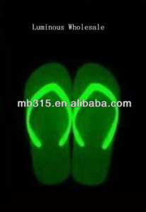 Yellow Green Eco-Friendly Night Luminous Ink for Printing Slipper