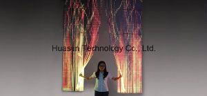 P37 Transparent Flexible LED Strip Video Display pictures & photos