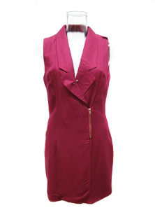 Lady Fuchsia Color Sleeveless Formal Dress (EF9003)