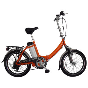Folding Electric Bicycle (TDN-003) pictures & photos