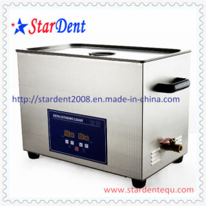 30L Stainless Steel Digital Tabletop Ultrasonic Cleaner of Deantal Instrument pictures & photos