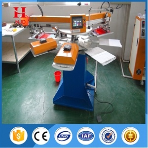 2 Color Automatic T-Shirt Silk Screen Printing Machine pictures & photos