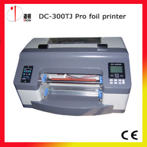 DC-300tj PRO Gold Foil Stamping Printer Machine pictures & photos