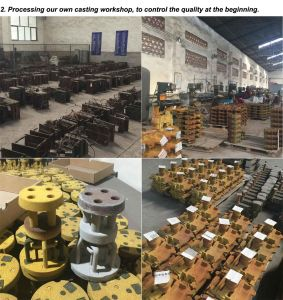 Pneumatic Control Stop Valve Auto Parts Hydraulic Valve for Tipper pictures & photos