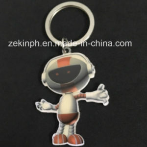 Fashion Metal Robot Promotional Keychains pictures & photos