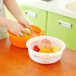 Better Life Food Grade PP Fruit and Vegetables Draining Basket Kitchen Wash Basin BPA Free pictures & photos
