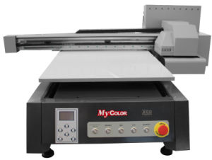 Digital Flatbed UV Printer for Plastic/Wood/Glass/Acrylic/Metal/Ceramic/Leather Printing pictures & photos