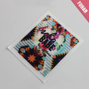 Custom Washable Heat Transfer Print Label pictures & photos