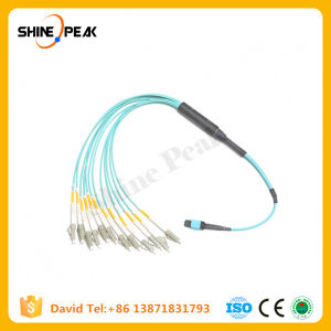 LC Sc FC MTP MPO Om3 Om4 Fiber Optic Patchcords pictures & photos