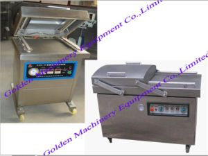 China Automatic Vacuum Gas Food Charging Packing Wrapping Machine pictures & photos