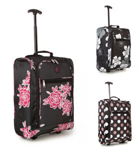Polyester Luggage with Single Bar Cabin Size OEM China Factory pictures & photos