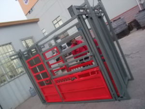 Hot DIP Galvanized or Powder Coated Cattle Squeeze Crush (HLT-1I) pictures & photos