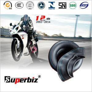 Butyl Motorcycle Inner Tube (3.50-10) with ISO9001: 2008 Rubber Tube pictures & photos
