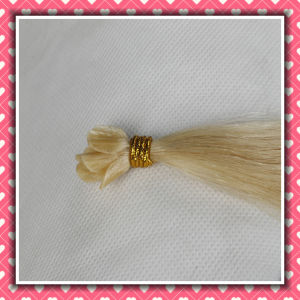 Factory Price Keratin Hair Extension Remy Silky16inch Nail Hair pictures & photos