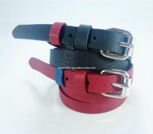 New Design Lady Belt of PU Leather (EUBL0991-15)