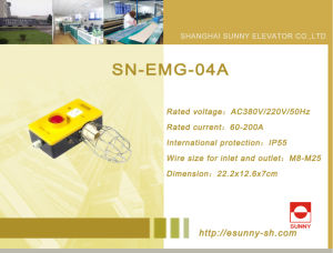 Maintenance Box for Elevator (SN-EMG-04A) pictures & photos