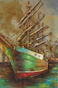 3 D Metal Quality Acrylic Oil Paintings pictures & photos