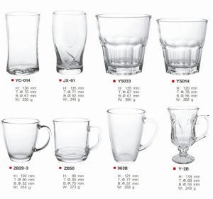 Glassware / Mug / Tumbler / Beer Glass / Drinking Glass pictures & photos