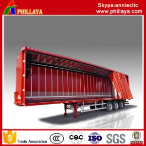 Box Cargo Side Container Semi Curtain Trailer pictures & photos