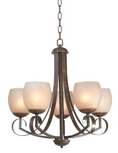 Iron Chandelier HLH-21483/5