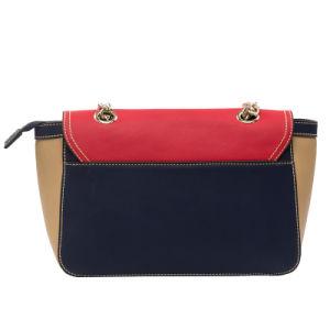 Designer Stylish Metal Shoulder Strap PU Ladies Handbags (C71222) pictures & photos