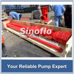 Line Shaft Overhung Vertical Turbine Spindle Borehole Pump pictures & photos