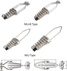 Tension Clamps for Insulating Conductor (NXJ-B-NXJ)