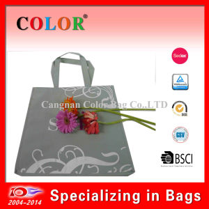 Cheap Non Woven Grocery Tote Bag with Logo Silkscreen Print