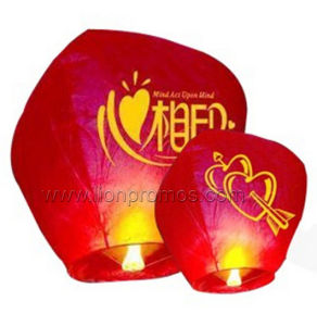 Custom Logo Party Celebration Sky Lantern pictures & photos