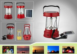 2016 New Design Outdoor Portable Solar Camping Lantern pictures & photos